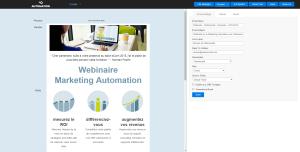 email builder Webmecanik