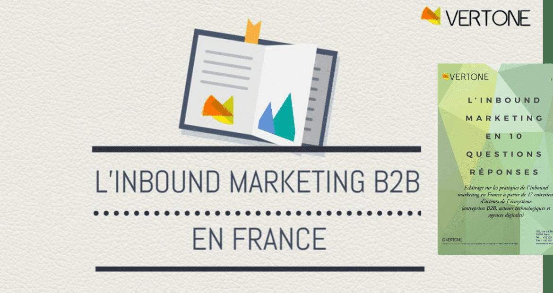 Livre Vert Inbound Marketing B2B de Vertone