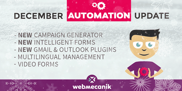 December Automation Update