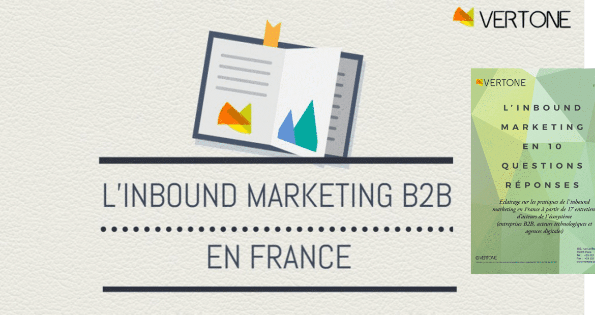 Livre Vert Inbound Marketing B2B de Vertone