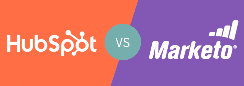 visuel comparatif Hubspot vs Marketo